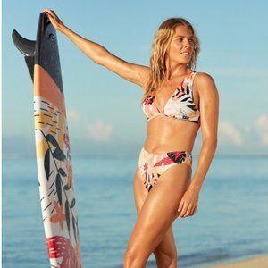 Roxy Pop Surf Elongated Triangle Top